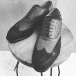 野生鹿革と、その鹿革を使った印伝の靴その2